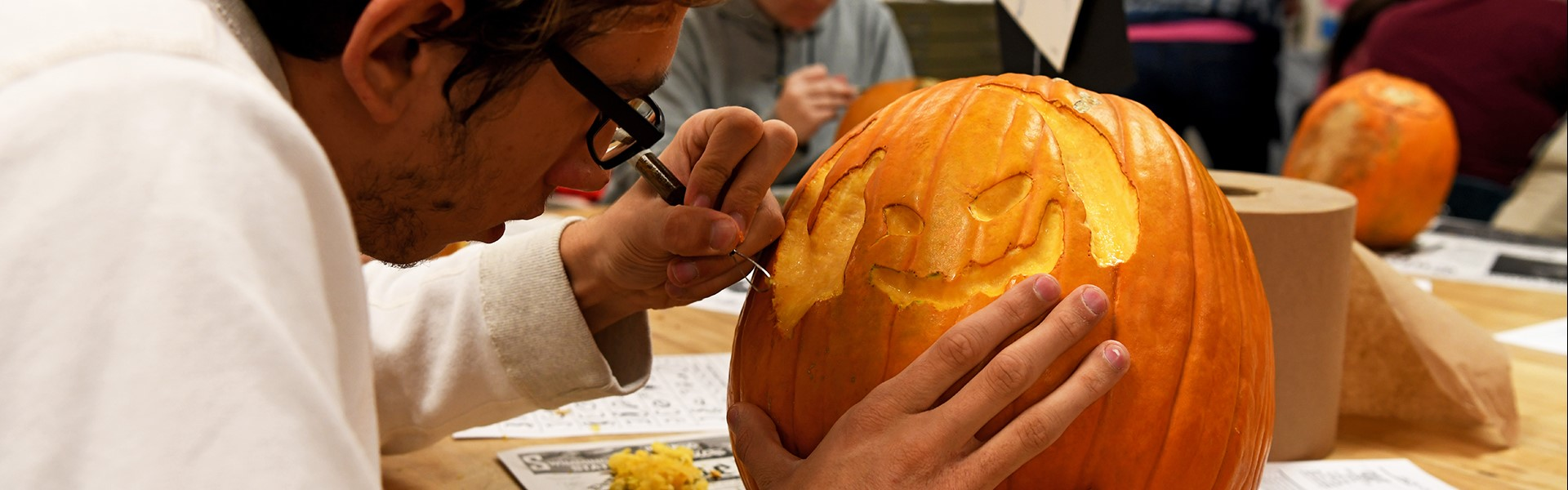 Pumpkin carving 10/18
