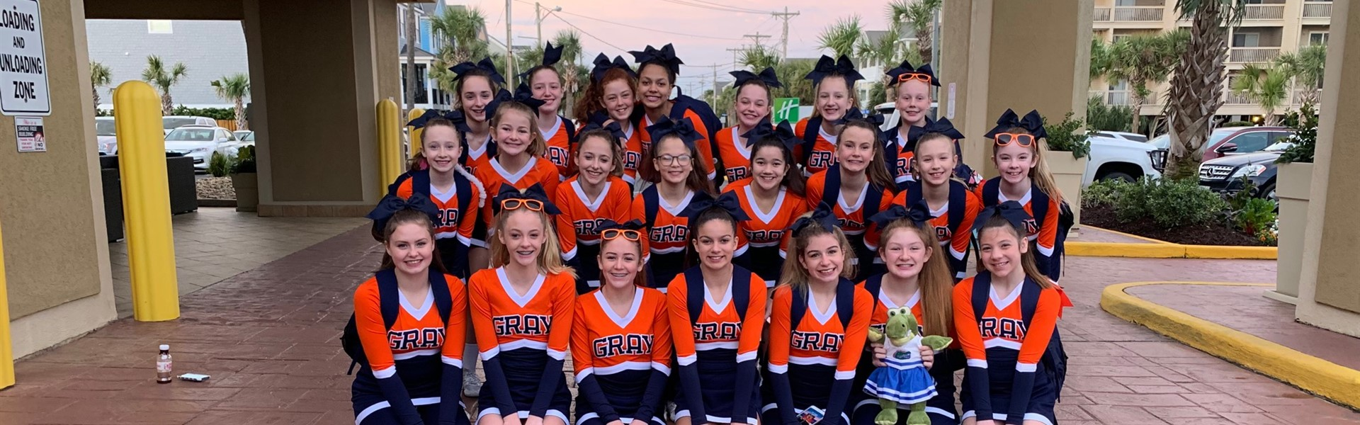National Cheer Competition, Myrtle Beach