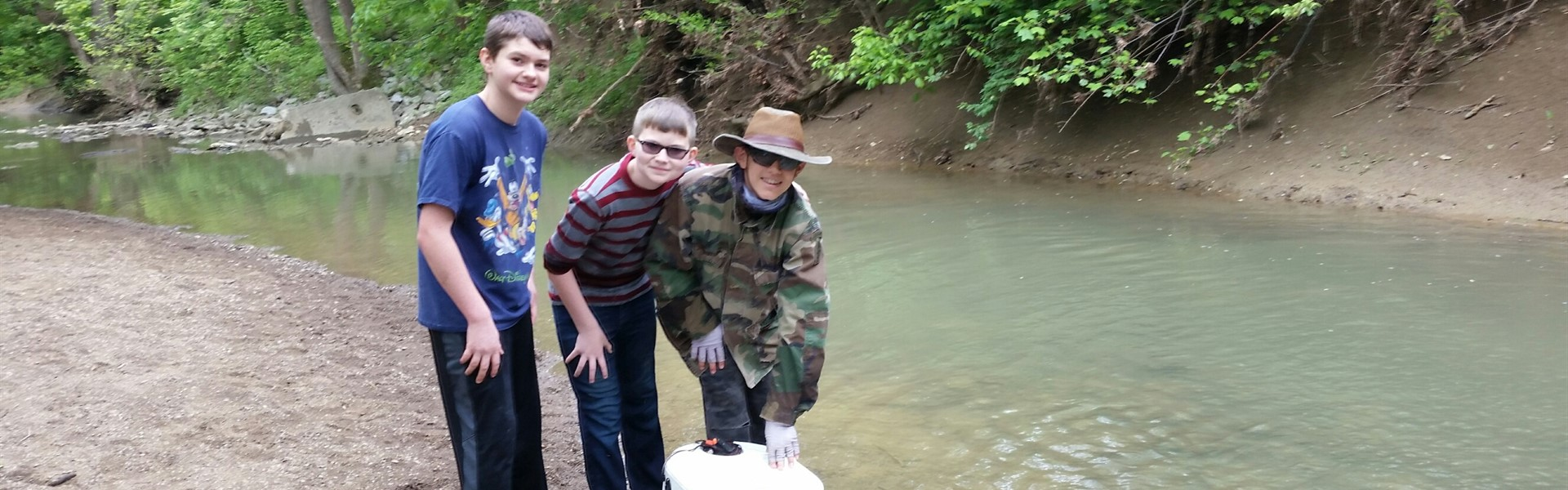 Trout in the Classroom Release Day