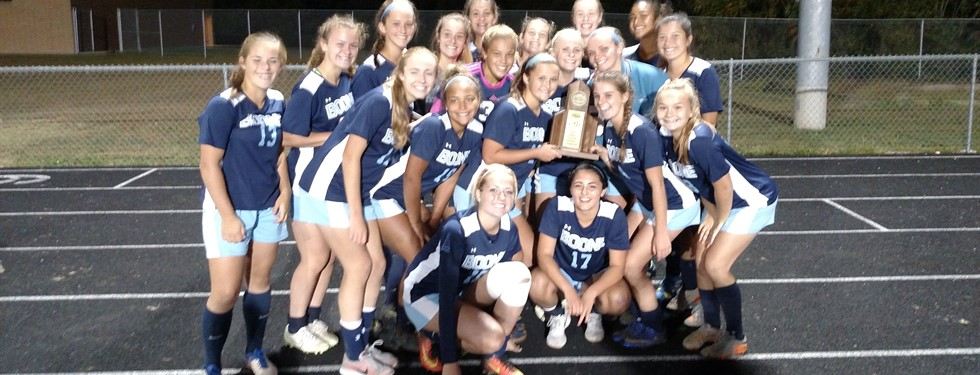 Girls Soccer District Champions
